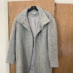 H&M zip up pea coat